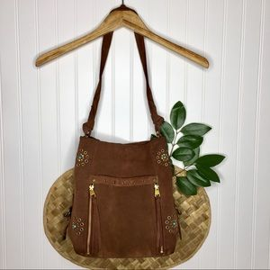 The Sak Collective Ojai Rivet Bucket Grommet Bag